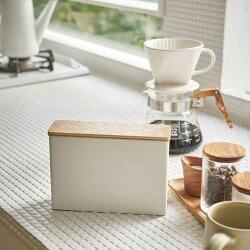 山崎実業トスカToscaコーヒーペーパーフィルターケースCoffeePaperFiltercaseホワイト03802