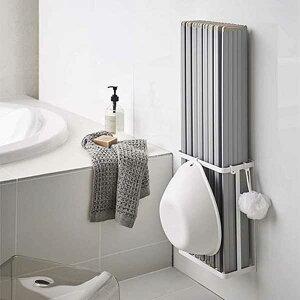 山崎実業 タワー Tower マグネットバスルーム折り畳み風呂蓋ホルダー 4860/4861