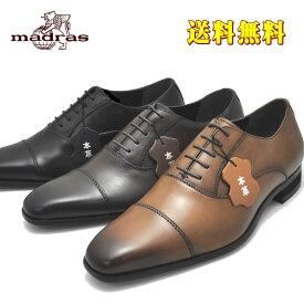 マドラス(madras)3E MDL モデーロ 本革 紐靴 ストレートチップ ビジネスシューズ DS4047