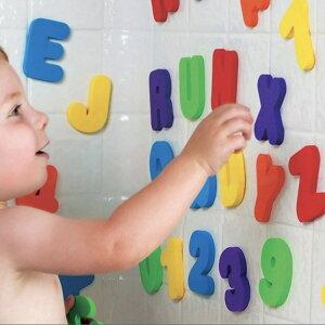 36pcsセット ローマ字 アルファベット 数字 スティック 浮かび 水遊び お風呂 おもちゃ 子供 キッズ 赤ちゃん 知育玩具 (A-Z) (0-9) 子供にギフト