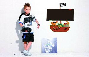 【アニマル黒板】チョークで書いて消せる ウォールステッカー ウォール ステッカー シール 北欧 激安 自然 はがせる 壁紙  子供にも安心♪動物/黒板/船