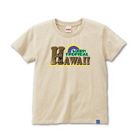 【完全受注生産】オリジナルデザインTシャツ warp_tropical{lady's}