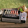 Yakiniku-grilled skewers stove Iwatani the General chemical House W grilled Double BBQ stove BBQ stove tabletop stove BBQ grilled chicken yakitori grilled chicken and roasted CB-RBT-W with hearth General