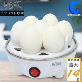 ゆで卵メーカー ゆで卵器 エッグクック MEK-65 電気卵調理器 キッチン家電 時短 お弁当におすすめ 固茹で 半熟卵