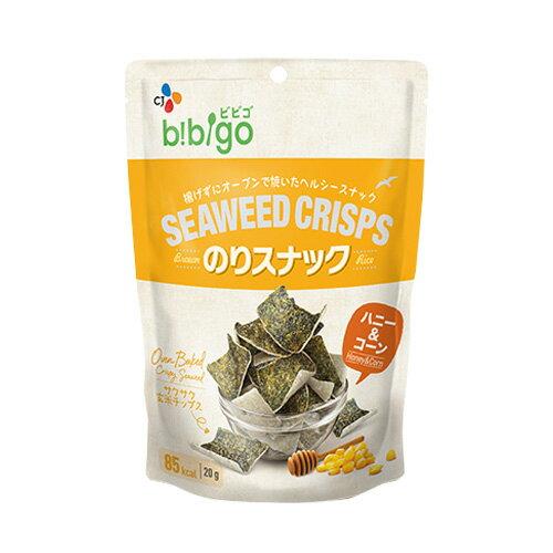 【1袋85カロリー!!】bibigo SEAWEED CRISPS のりスナック ハニー&コーン【メーカー直送・正規品】 | 新大久保 韓国