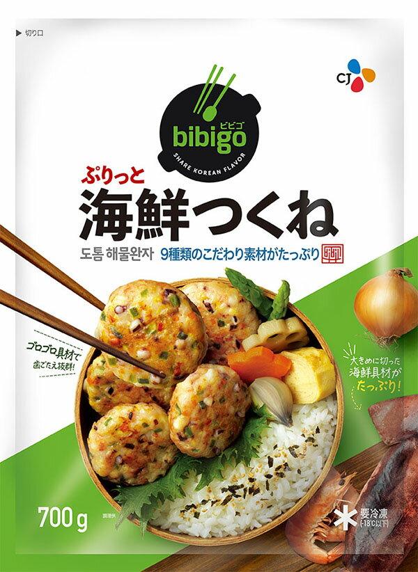 【楽天マラソン 限定価格 ポイント10倍】bibigo 海鮮つくね◯新発売◯ 700g〔クール便〕【メーカー直送・正規品】 | 韓国 韓国食品 韓国食材 おやつ ビビゴ