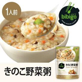 bibigo きのこ野菜粥 300g 手軽 簡単アレンジ 時短 ギフト