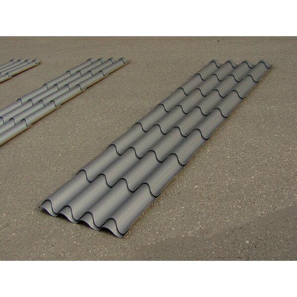 【金属屋根材】フィンルーフ10 (6ステアー/2100mm) 金属瓦 遮熱 カラーガルバリウム鋼板