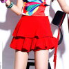 It is length dance clothes in bottoms high school costume play short skirt miniskirt knee with the skirt Lady's mini-pleated skirt Korea fashion underwear