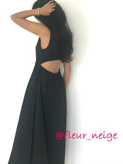 Dress tank Lady's maxi medium size back maxi dress back conscious long shot unhurried feminine