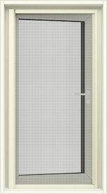 デュオPG 横引きロール網戸 装飾窓(たてすべり出し・横すべり出し・両縦すべり出し)専用 06011 内法基準W:600mm × 内法基準H:1,100mm LIXIL TOSTEM