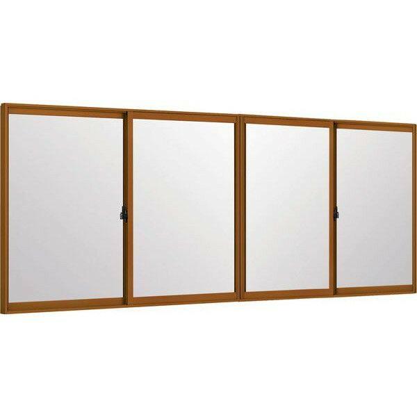 トステムインプラス 引き違窓 4枚建 複層ガラス 遮熱グリーン3mm+透明3mmガラス: 幅2001〜3000mm×高1001〜1400mm リクシル 内窓 TOSTEM LIXIL DIY リフォーム