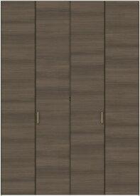 特注サイズ ラシッサD ラテオ クローゼット 折戸すっきりタイプ 4枚折戸 ALCD-LAA W:1020-1820mm × H:1518-2425mm ノンケーシング LIXIL