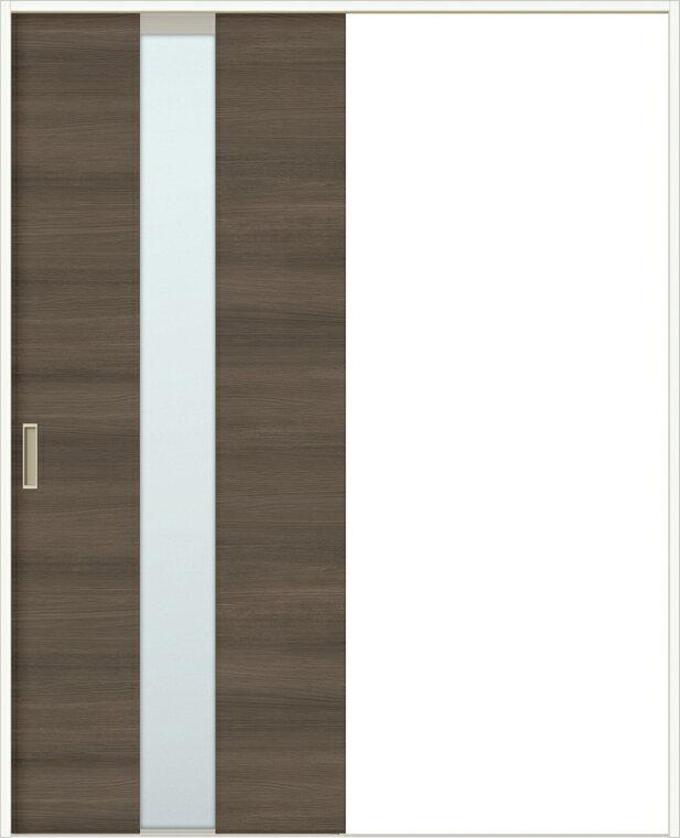 特注サイズ ラシッサD ラテオ 室内引戸 Vレール方式 片引戸 標準タイプ ALKH-LGM 錠付 W:1188-1992mm × H:1728-2425mm ノンケーシング / ケーシング