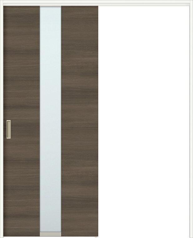 特注サイズ ラシッサD ラテオ 上吊引戸 片引戸標準 ALUK-LGM 錠付 W:1092-1992mm × H:1750-2425mm ノンケーシング / ケーシング