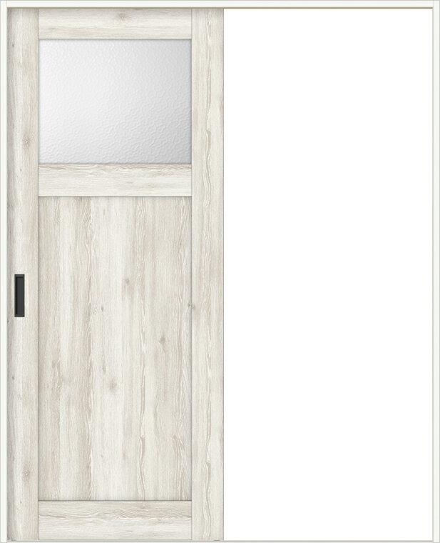 特注サイズ ラシッサD パレット 室内引戸 Vレール方式 片引戸 標準タイプ APKH-LGJ 錠付 W:1188-1992mm × H:1728-2425mm ノンケーシン/ケーシング LIXIL