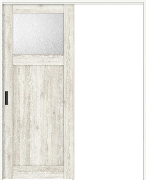 特注サイズ ラシッサDパレット 室内引戸 間仕切り上吊引戸 片引戸標準タイプ APMKH-LGJ 錠なし W:1092-1992mm × H:1750-2425mm ノンケーシング/ケーシング