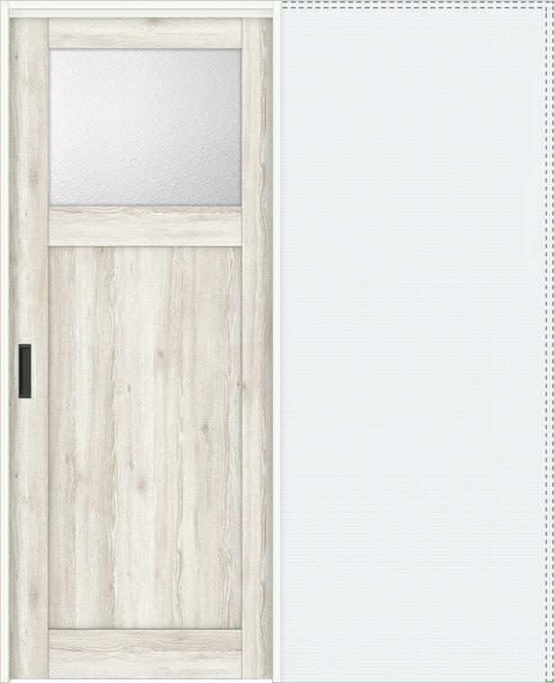 特注サイズ ラシッサD パレット 上吊引戸 引込み戸標準 APUHK-LGJ 錠付 W:1188-1992mm × H:1750-2425mm ノンケーシング / ケーシング LIXIL TOSTEM