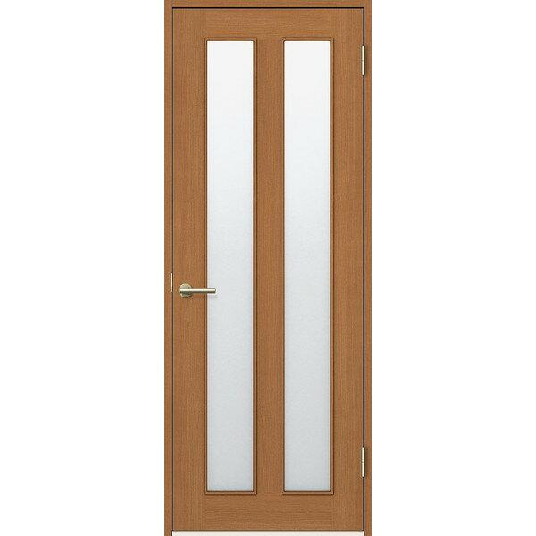 期間限定 エントリーでポイント5倍 室内ドア 標準ドア カスミ熱処理ガラス 錠付 FTH-CMJ オーダーサイズ W704-957mm H2113-2425mm ファミリーライン リクシル DIY リフォーム ※仕様変更の為18年3月末販売終了