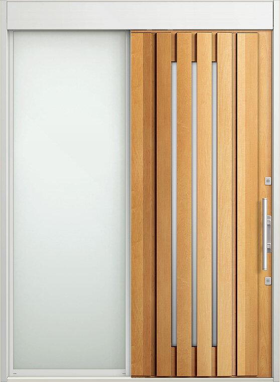 玄関 スライディングドア エルムーブ 片袖 W187 LMV-14型 幅1870×高2330 リクシル LIXIL DIY リフォーム