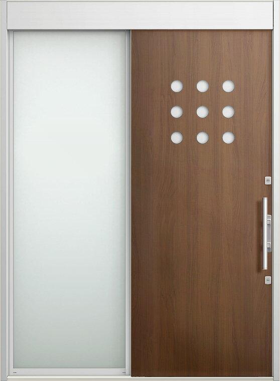 玄関 スライディングドア エルムーブ 片袖 W187 LMV-13型 幅1870×高2330 リクシル LIXIL DIY リフォーム