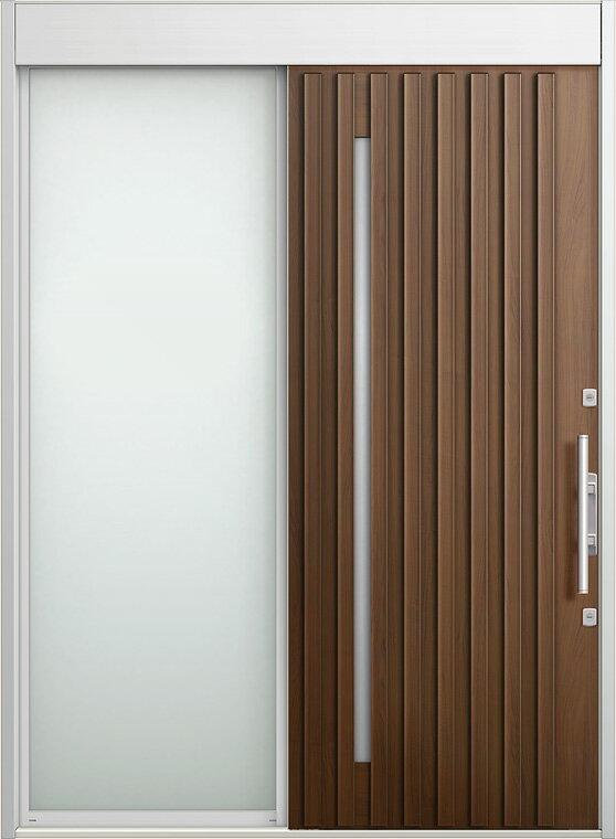 玄関 スライディングドア エルムーブ 片袖 W187 LMV-20型 幅1870×高2330 リクシル LIXIL DIY リフォーム