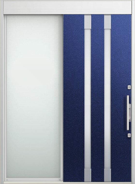 玄関 スライディングドア エルムーブ 片袖 W187 LMV-21型 幅1870×高2330 リクシル LIXIL DIY リフォーム