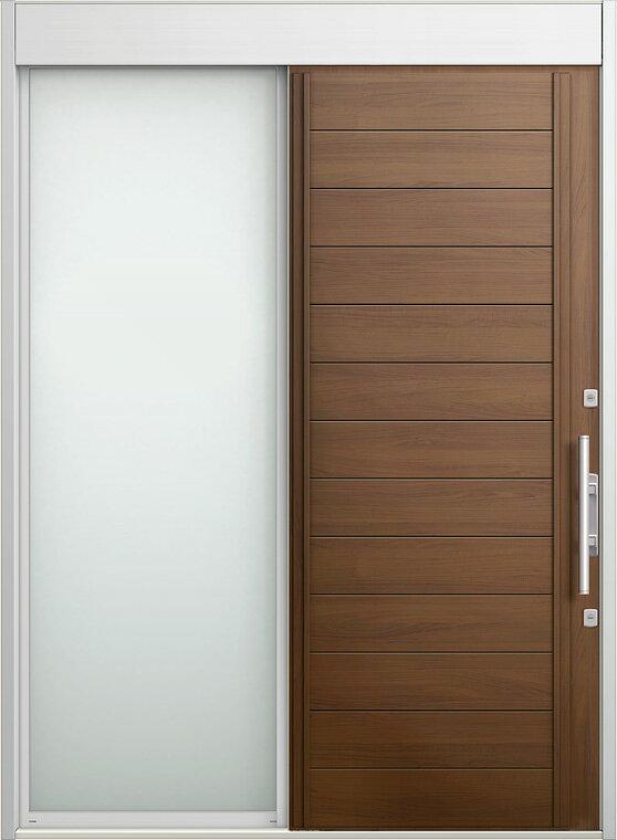 玄関 スライディングドア エルムーブ 片袖 W187 LMV-27型 幅1870×高2330 リクシル LIXIL DIY リフォーム
