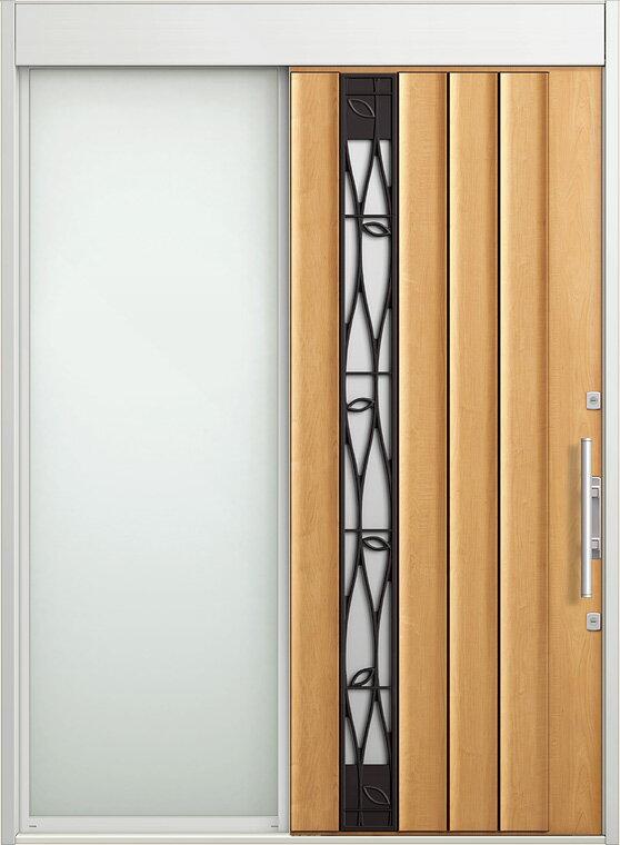 玄関 スライディングドア エルムーブ 片袖 W187 LMV-29型 幅1870×高2330 リクシル LIXIL DIY リフォーム