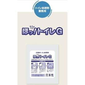 エクセルシア ほっ!トイレG 100袋入り 処理用ビニール袋付 省スペースで備蓄出来る 災害用 トイレ処理剤 DIY リフォーム
