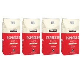Kirklandカークランドシグネチャー スターバックス エスプレッソブレンド コーヒー(豆)1.13kg 4袋セット cos6979200x4