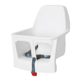 IKEA イケア シートシェル ハイチェア用 ホワイト n00330821 LANGUR