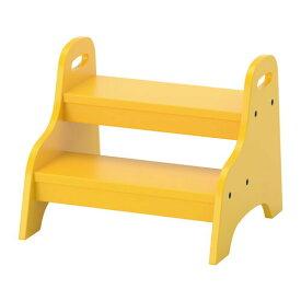 IKEA イケア 子供用ステップスツール イエロー z20371523 TROGEN