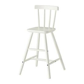IKEA イケア AGAM 子供用チェア ホワイト c50253537