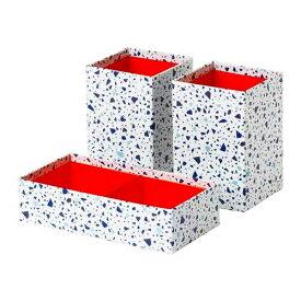 IKEA イケア MOJLIGHET ボックス3点セット n90441810