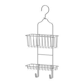 IKEA イケア IMMELN シャワーハンガー 2段 亜鉛メッキ a10252634