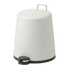 IKEA イケア SNAPP ペダル式ゴミ箱 ホワイト d40245430