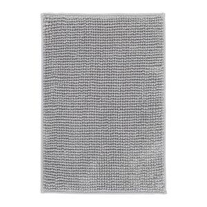 IKEA イケア TOFTBO バスマット グレーホワイト 白 メランジ z70422271