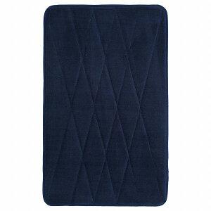 IKEA イケア バスマット ダークブルー 青 40x60cm n20455631 UPPVAN