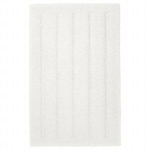 IKEA イケア バスマット ホワイト 白 40x60 cm n70482967 EMTEN エムテン
