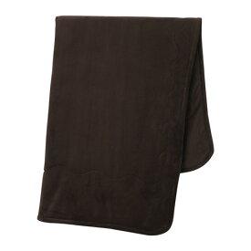 IKEA イケア 毛布 ブラウン 200x200cm VITGROE d20368846