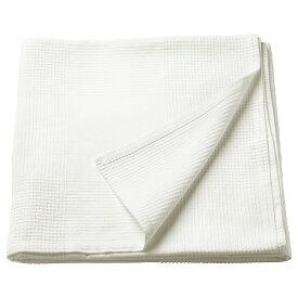 IKEA イケア ベッドカバー シーツ ホワイト シングル 40191757 INDIRA