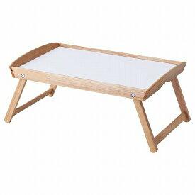 IKEA イケア ベッドトレイ ゴムノキ DJURA a50287274