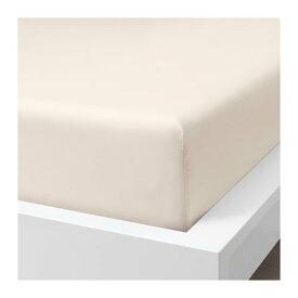 IKEA イケア ボックスシーツ ライトベージュ クイーンサイズ z00412789 SOMNTUTA