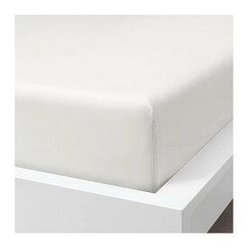 IKEA イケア ボックスシーツ ホワイト クイーンサイズ z20412806 SOMNTUTA