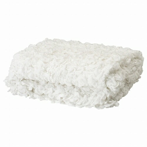 IKEA(イケア) OFELIA 毛布 ホワイト d60173856