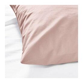 IKEA イケア 枕カバー ライトピンク DVALA z60349422