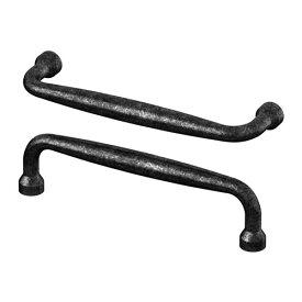 IKEA イケア MOLLARP ノブ / 2 ピース ブラック d00270068