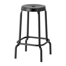 IKEA イケア RASKOG ロースコグ バースツール ブラック z10352247