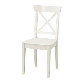 IKEA イケア INGOLF チェア ホワイト 白 z10362487